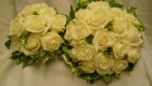 BRIDE AND BRIDES MAID  -SILK FLOWERS
